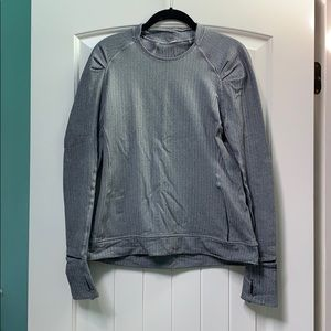 Lululemon Tweed Long Sleeve WARM/THICK